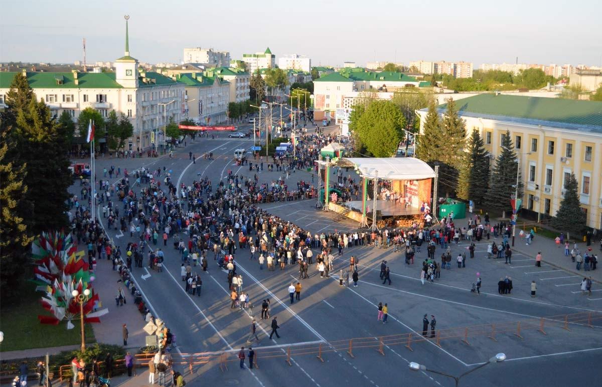 Программа празднования Дня Независимости в Барановичах