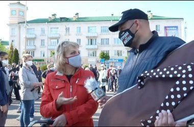 Тихановский в Барановичах: убить таракана в себе