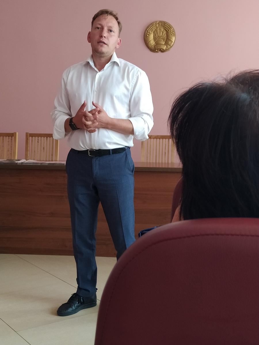 Андрей Дмитриев «говорил правду» в Барановичах